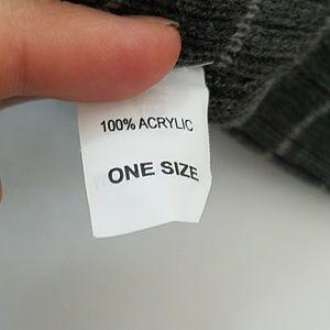 87273e7ec REI Men's Reversable Rib Knit Beanie Charcoal NWT NWT